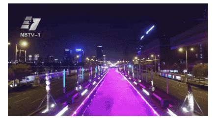 """宁波部分城区开始了""""见光不见灯""""的全新体验衰减器"""