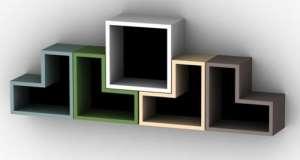 神奇变形书架用更小的体形装饰你的资新家直线导轨